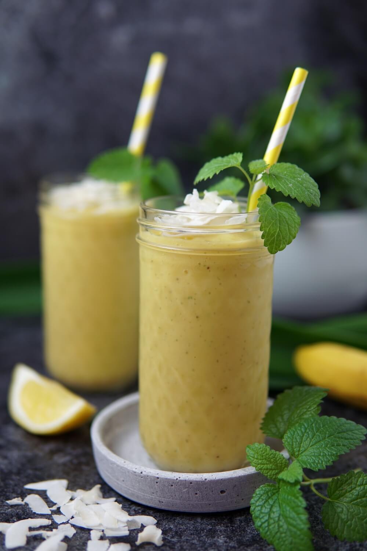 Veganer Mango-Smoothie