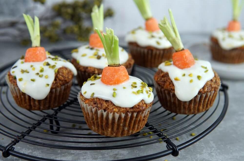 Karotten Muffins